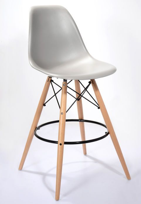 Cool Grey Eames Style Bar Stool from Danetti.  sc 1 st  Pinterest & 112 best Danetti | Iconic Eames images on Pinterest | Dining ... islam-shia.org