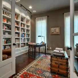 48 best Home Office/ Library images on Pinterest | Libraries ...