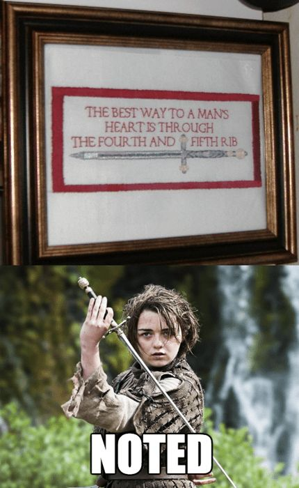 I Bet GRRM Has This Hanging on His Wall