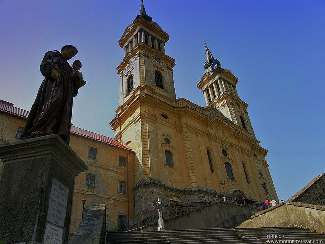 Manastirea Maria-Radna by romeo c., via Flickr, Lipova, Romania