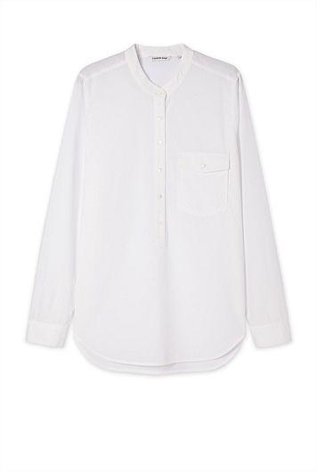 Poplin Popover Shirt