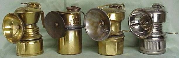 Calcium Carbide Lanterns - mine and caving history