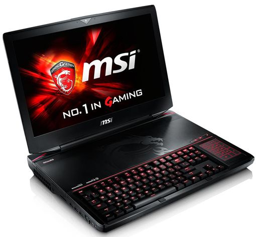 MSI GT80 2QE Titan SLI notebook is the first ever notebook with mechanical keyboard powered by Intel Core i7-4720HQ processor paired with 2x NVIDIA GeForce GTX 980M 8GB graphics card in SLI mode