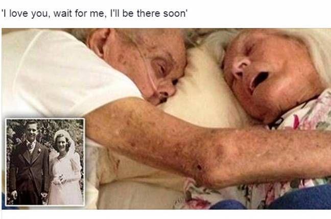 CALIFORNIA Sposati da ben 75 anni e la morte l'hanno vissuta assieme, tanto da morirea soli 24 ore di distanza, dandosi ancora