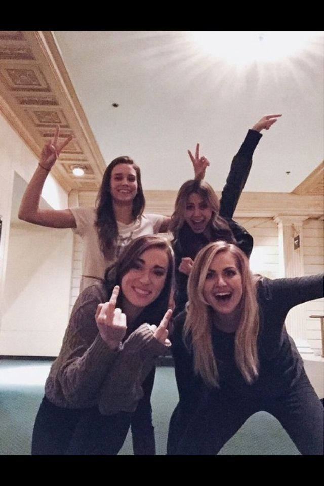 Whaaaaat?! Rose, Rosie, Shannon, and Cammie all in one picture?! BUT WHEN