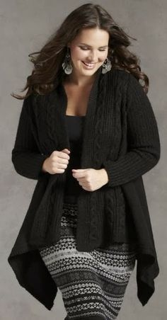 fall fashion for plus size women over 50 | Women's Plus Size Outfits