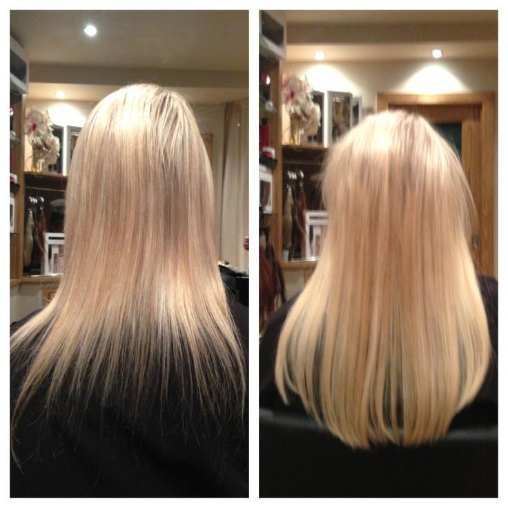 Balmainized Hair By Jack Cunningham The Hairdressers