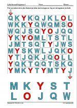 L�s labyrinten og find store bogstaver