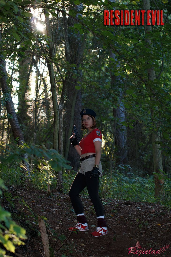 Investigating the Arklay Forest by Rejiclad Jill Valentine Resident Evil / Biohazard cosplay