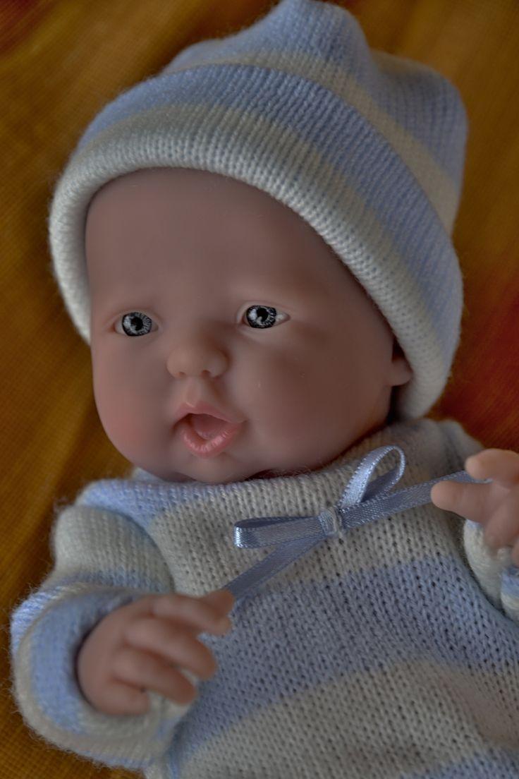 """Realistické mini miminko - chlapeček Tobík, který  """"něco povídá"""""""