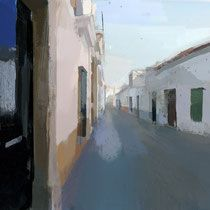 Miguel coronado Casas. 60x80 cm.