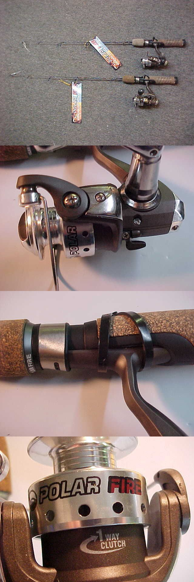 Ice Fishing Rods 179947: 2 New Polar Fire Professional Tx Ice Fishing Combos 24 Ultra Light 4 Bb -> BUY IT NOW ONLY: $54.95 on eBay!