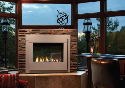 A Vent Free Heatilator Gas Fireplace From Hamilton Parker Makes It Possible To Have A Full Sized