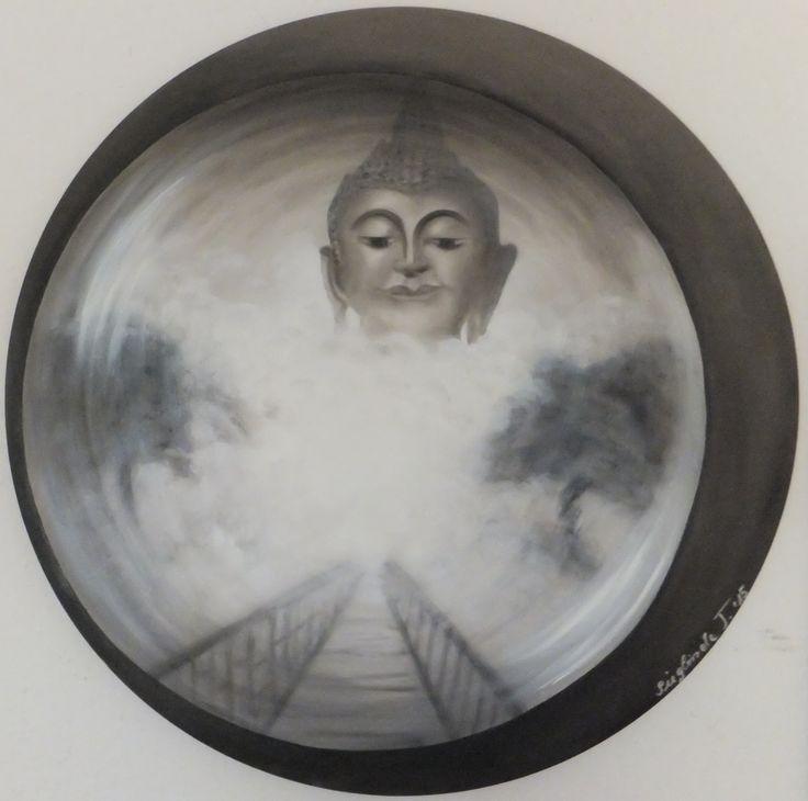 """""""Nirwana"""" - Ölbild 70 cm"""