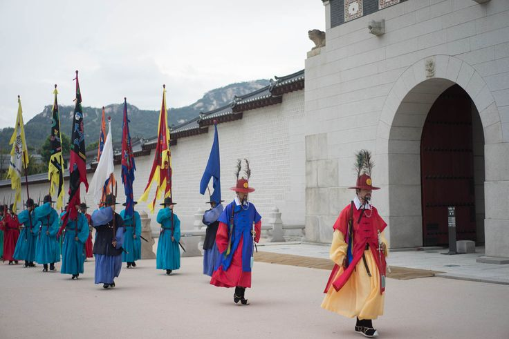 Gyeongbokgung: Changing of the guards