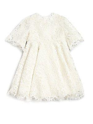 Dolce & Gabbana Toddler's & Little Girl's Lace Dress