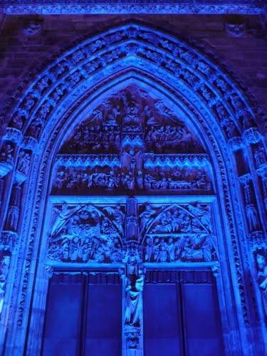 Blue Church Germany Nürnberg