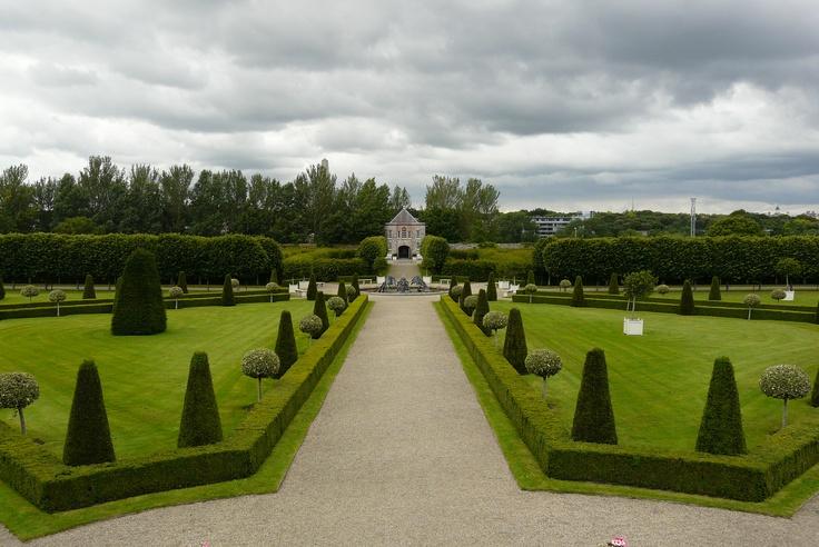 Park gardens, Irish Museum of Modern Art
