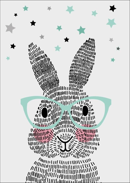 Poster Mr. Rabbit