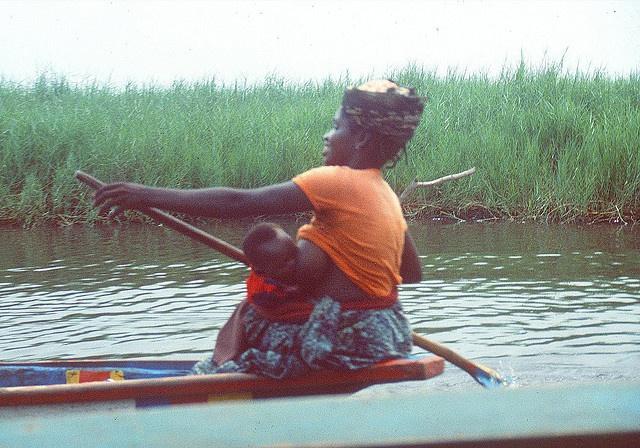 #Breastfeeding Multi-Tasking in Benin by Kojo_46, via Flickr