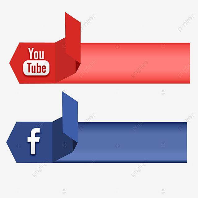 Icone De Midia Social Banner De Fita De Vetor Do Youtube Clipart De Midia Social Icones Do Youtube Icones Sociais Imagem Png E Psd Para Download Gratuito Social Media Icons Social