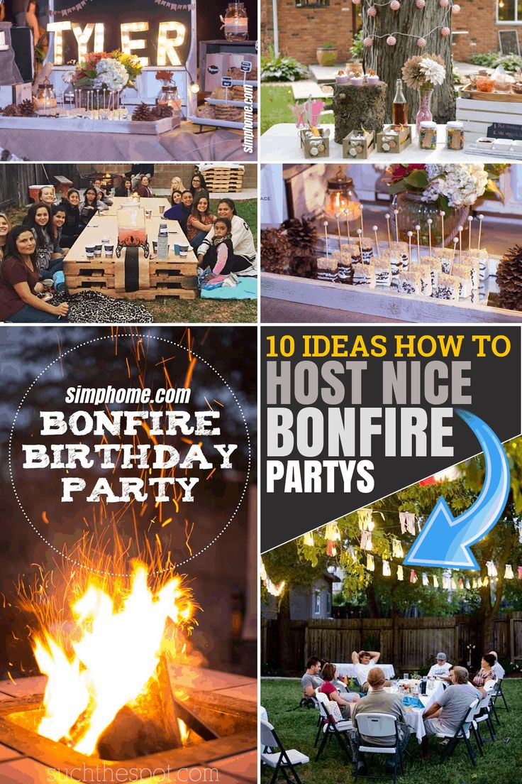 10 Ideas How to Host Fun Backyard Bonfire parties