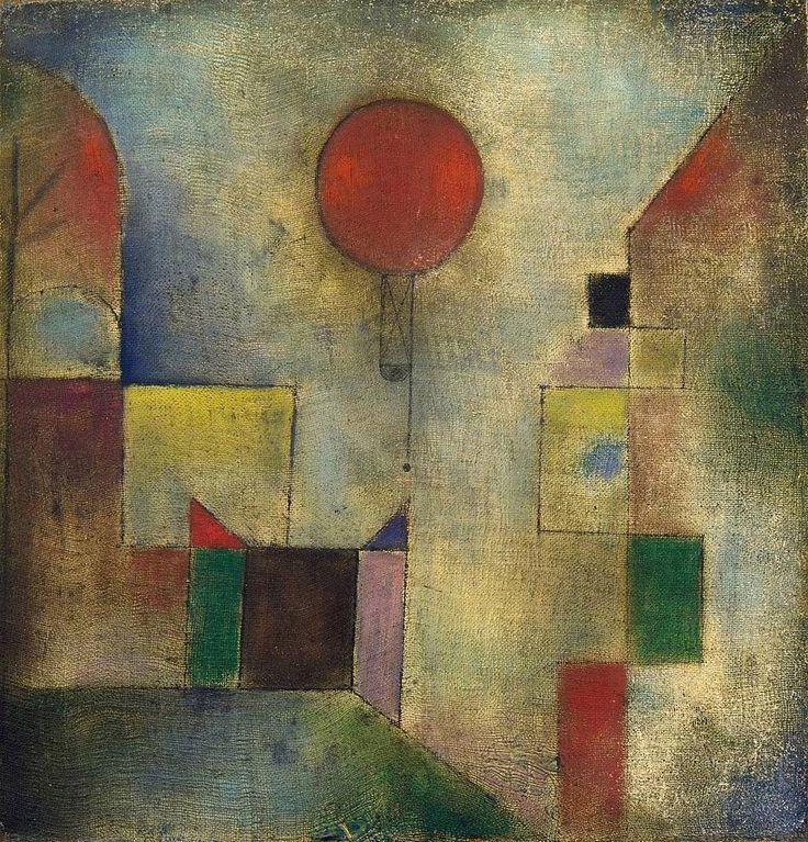 Collection Online | Paul Klee. Red Balloon (Roter Ballon). 1922 - Guggenheim Museum