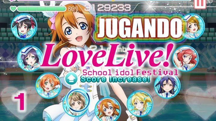 Primera vez Jugando Love Live School Festival