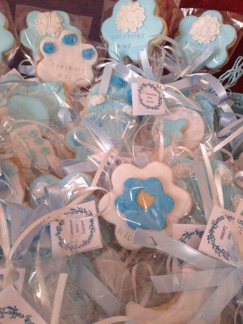 biscotti decorati per la prima comunione !!