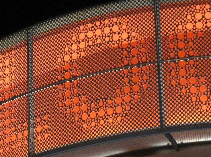 РСМ Дизайн окружающей среды на опыте Архитектурный Графический дизайн Портфель проектов Петля 5 Вайтерштадт Германия Торгово-развлекательный Логотип концептуального видения Placemaking Wayfinding Внешний Строительство идентичности Фасад вырез