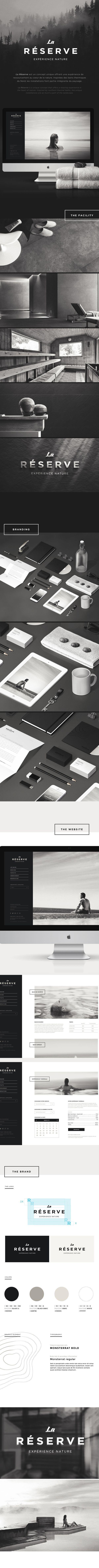 La Reserve, Property, Monotone, Branding, Website