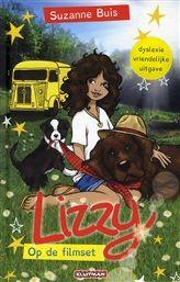 Lizzy op de filmset  In dit boek gaan Lizzy, haar vriendin Rebecca, oma Marja en de honden met een oude kampeerbus naar de filmset waar Lizzy's moeder opnames heeft. http://www.bruna.nl/boeken/lizzy-op-de-filmset-9789020694727