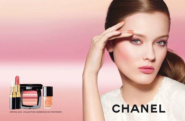 Wiosenny nake up od Chanel   Kokietkowo.pl