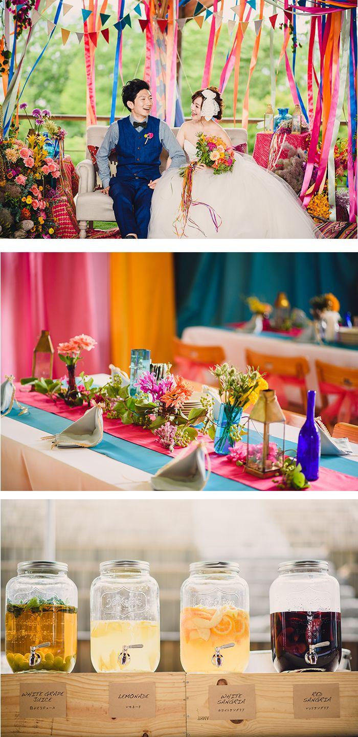 コンセプトウェディング| CLOVER MARCH | crazy wedding (クレイジーウェディング)