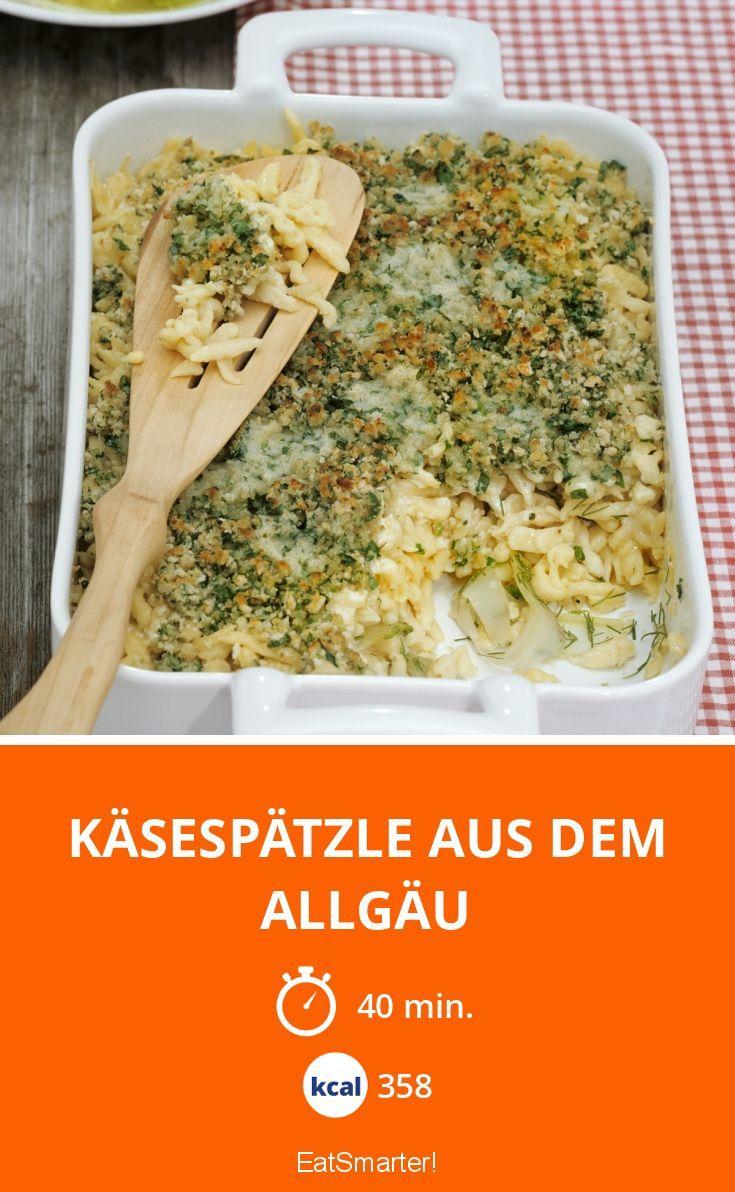 Käsespätzle aus dem Allgäu - smarter - Kalorien: 358 Kcal - Zeit: 40 Min. | eatsmarter.de