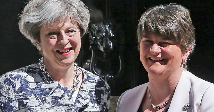 She really doesn't care how she spends YOUR money does she ! The Prime Minister arranged for Arlene Foster to be flown back to Belfast in a military plane as a favour condemned by Jeremy Corbyn