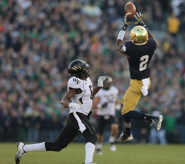 Image result for wake forest at notre dame