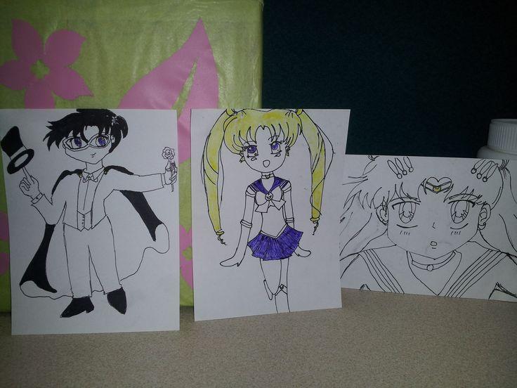 Sailor Moon - Lapiceros y marcadores
