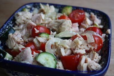 Ovenschotel met tonijn