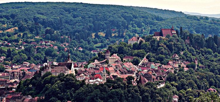 Romania_Transylvania_Sighisoara_Medieval_Fortress