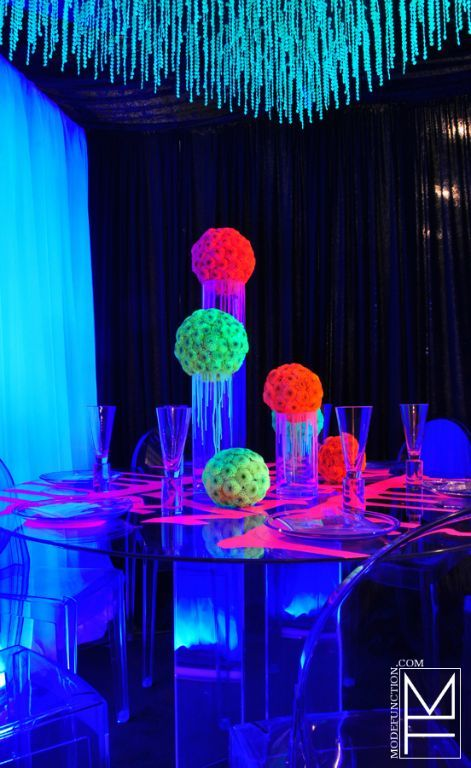 """Theme Table Design Competition - Theme """"Graffiti Nation"""" by Mode Function Event Design Ltd. www.modefunction.com"""