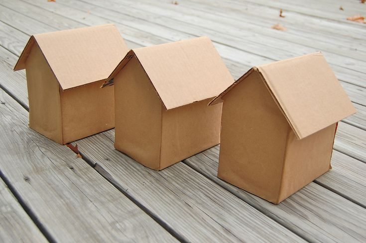 Gingerbread Houses - make cardboard houses and let children decorate them with stickers, glitter etc