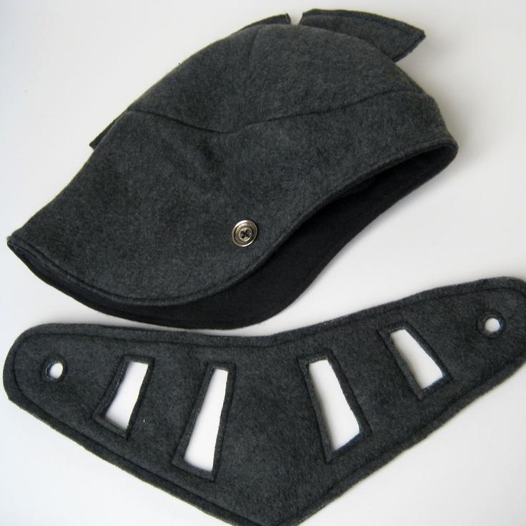 Knight's Helmet - Charcoal Grey