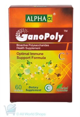 GanoPoly C+ - Optimal Immune Support Formula - Alpha - 60 capsules | Shop New Zealand NZ$145