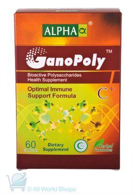 GanoPoly C+ - Optimal Immune Support Formula - Alpha - 60 capsules   Shop New Zealand NZ$145