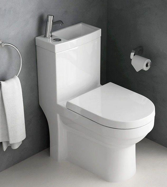 Les Wc Lave Mains Pour Gagner De La Place Aux Toilettes Wc Lavant Wc A Poser Lave Main Toilette