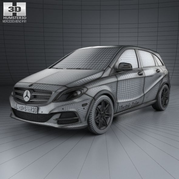 Mercedes Benz B Class W242 Electric Drive 2014 With Images