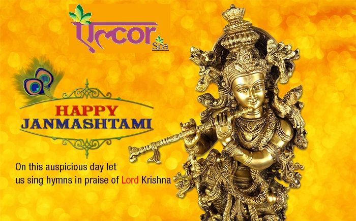 May Lord Krishna steal all your tensions and worries on this Janmashtmi! And give you all the love, peace and happiness. Happy Krishna Janmashtami! #AlcorSpa #HappyJanmashtami