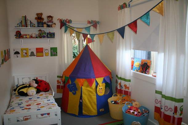 Circus Carnival Theme Nurseries Henrys Room