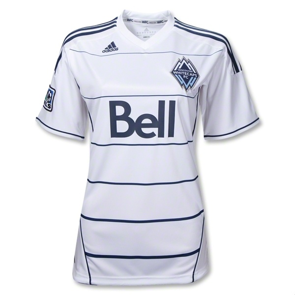 Vancouver Whitecaps FC 2012 Home Women's Soccer Jersey